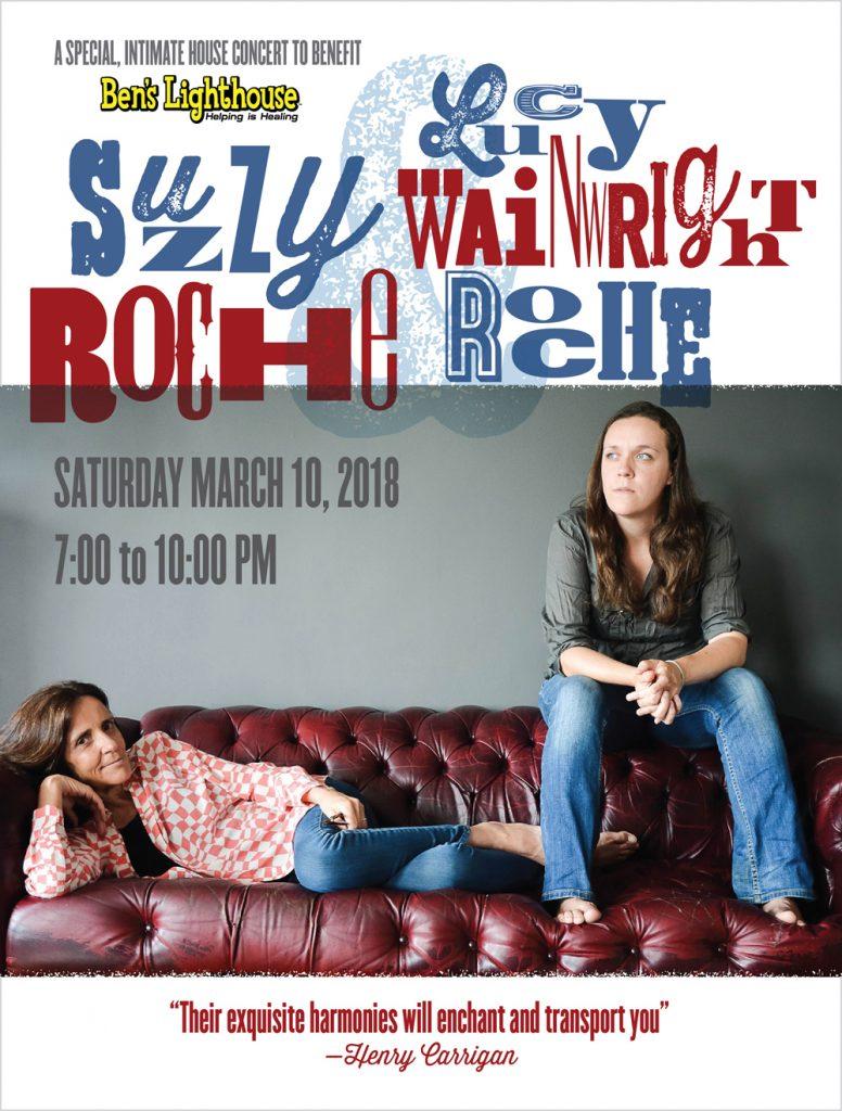 Suzzy Roche & Lucy Wainwright Roche