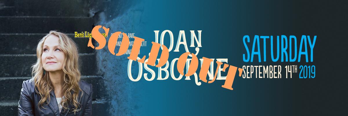 Joan Osborne Sold Out